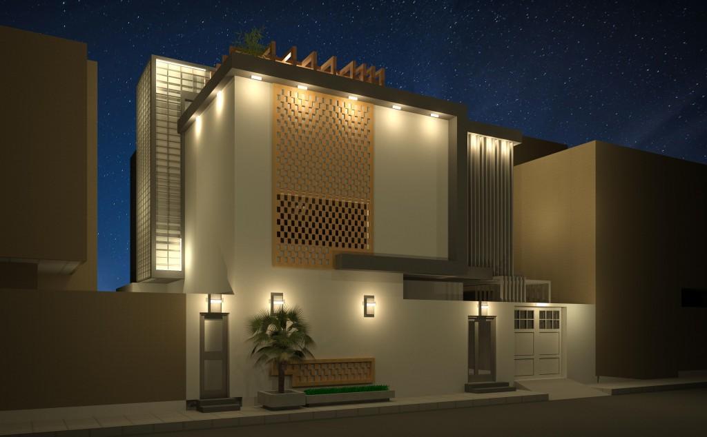 Private villas design in riyadh indexa office for Private villa design