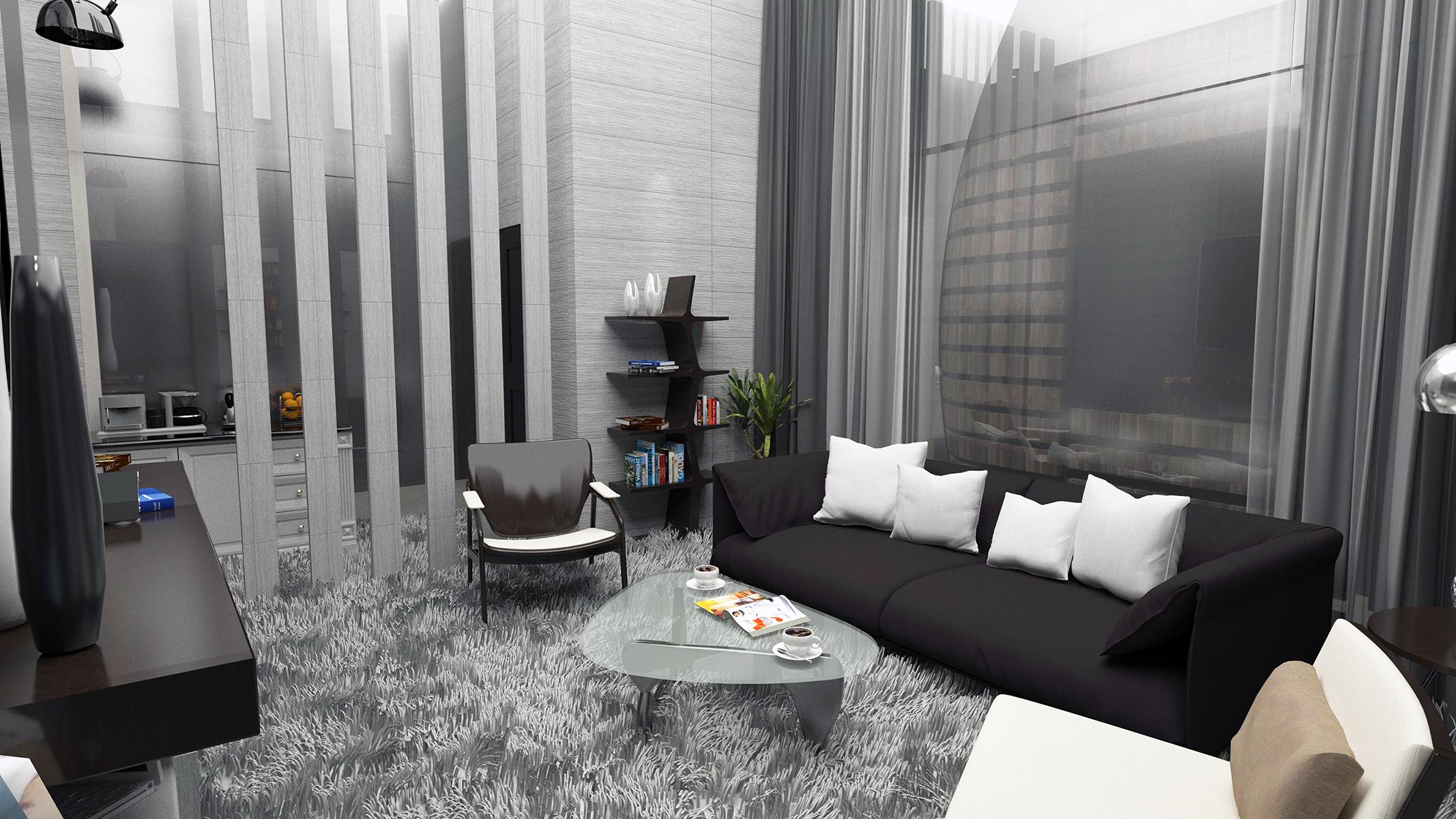 Al-'Uyayna Resort – Interior design
