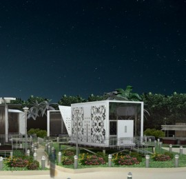 Al-'Uyayna Resort – Architectural design